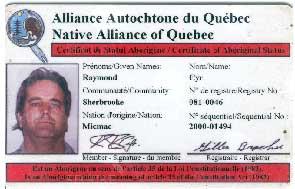 Carte Indien Canada Avantage.La Nation Autochtones Du Quebec La Carte Autochtone